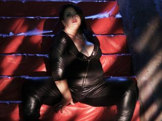 Picture of the sexy profile of BustyFetishBabe, for a very hot webcam live show !