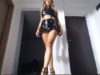 Picture of the sexy profile of Cyberxxx, for a very hot webcam live show !