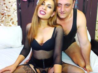 EveandAaron live oral sex show